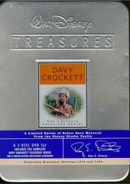 Davy Crockett: Walt Disney Treasures Limited Edition Tin Movie