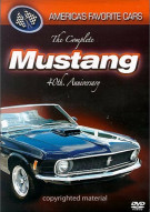 Americas Favorite Cars: Mustang - 40th Anniversary Movie