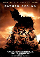 Batman Begins:2-Disc Deluxe Edition with Comic Book Movie
