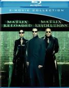 Matrix Reloaded, The / The Matrix Revolutions (Double Feature) Blu-ray