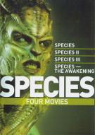 Species: Four Movies Movie