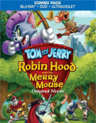 Tom And Jerry: Robin Hood And His Merry Mouse (Blu-ray + DVD Combo) Blu-ray