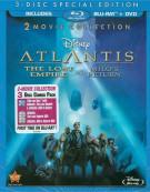 Atlantis: The Lost Empire / Atlantis: Milos Return - 2 Movie Collection (Blu-ray + DVD Combo) Blu-ray