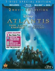 Atlantis: The Lost Empire / Atlantis: Milos Return - 2 Movie Collection (Blu-ray + DVD Combo) Blu-ray