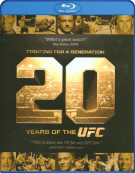 Fighting For A Generation: 20 Years Of The UFC Blu-ray