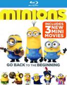Minions (Blu-ray + DVD + UltraViolet) Blu-ray