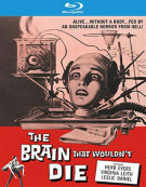 Brain That Wouldnt Die, The Blu-ray