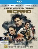 Sicario (4K Ultra HD + Blu-ray + UltraViolet) Blu-ray