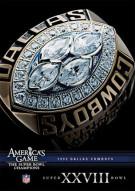 NFL Americas Game: 1993 Dallas Cowboys Super Bowl XXVIII Movie