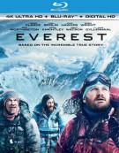 Everest (4K Ultra HD + Blu-ray + UltraViolet) Blu-ray