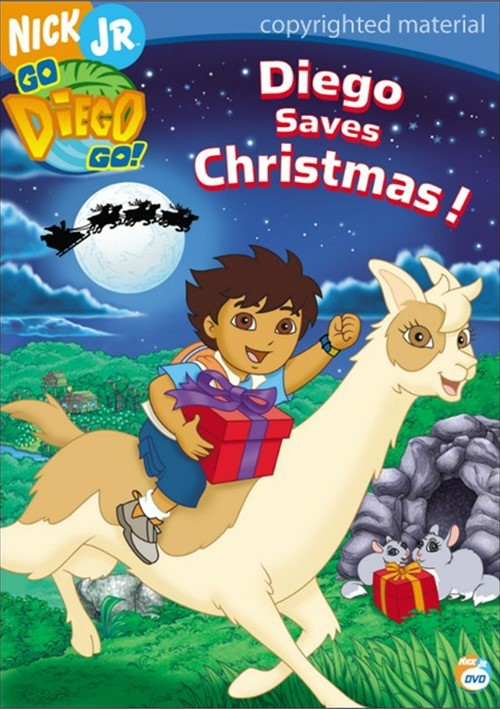 go diego go diego saves christmas dvd 2006 dvd empire
