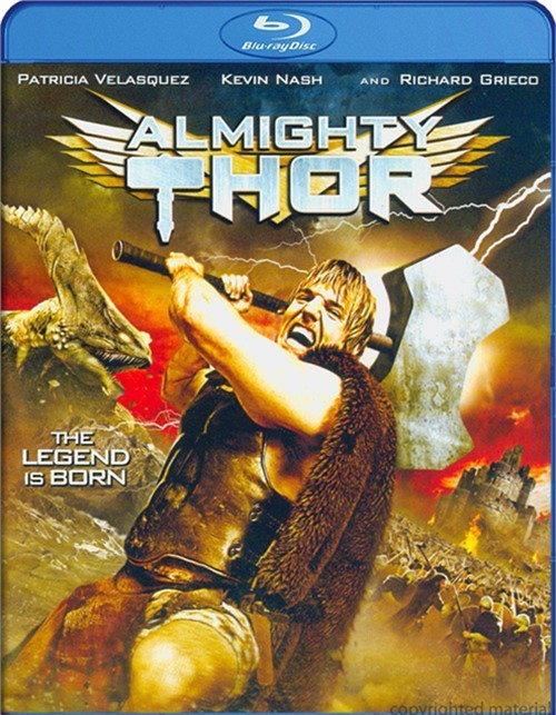 Almighty Thor Blu-ray
