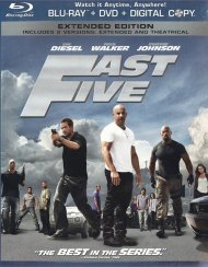 Fast Five (Blu-ray + DVD + Digital Copy) Blu-ray