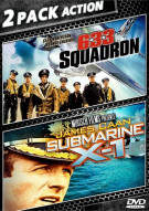 633 Squadron / Submarine X-1 (Double Feature) Movie