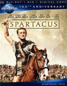 Spartacus (Blu-ray + DVD + Digital Copy) Blu-ray