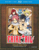 Fairy Tail: Collection Two (Blu-ray + DVD Combo) Blu-ray