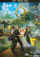 Oz The Great And Powerful (DVD + Digital Copy) Movie