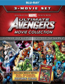 Ultimate Avengers 3-Movie Collection Blu-ray