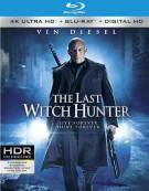 Last Witch Hunter, The (4K Ultra HD + Blu-ray + UltraViolet) Blu-ray