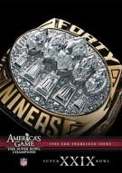 NFL Americas Game: 1994 San Francisco 49ers Super Bowl XXIX Movie