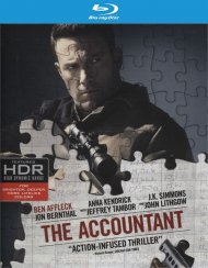 Accountant, The (4K Ultra HD + Blu-ray + UltraViolet)  Blu-ray