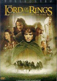 Lord Of The Rings, The: The Fellowship Of The Ring (Fullscreen) Movie
