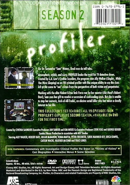Profiler Seasons 1 2 Movie HD free download 720p