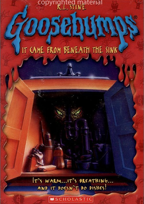 goosebumps it came from beneath the sink repackage dvd