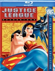 Justice League Of America: Season One Blu-ray