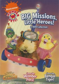 Wonder Pets: Big Missions, Little Heroes! 3 DVD Collection Movie