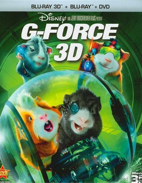 G- 3D (Blu-ray 3D + Blu-ray + DVD) Blu-ray