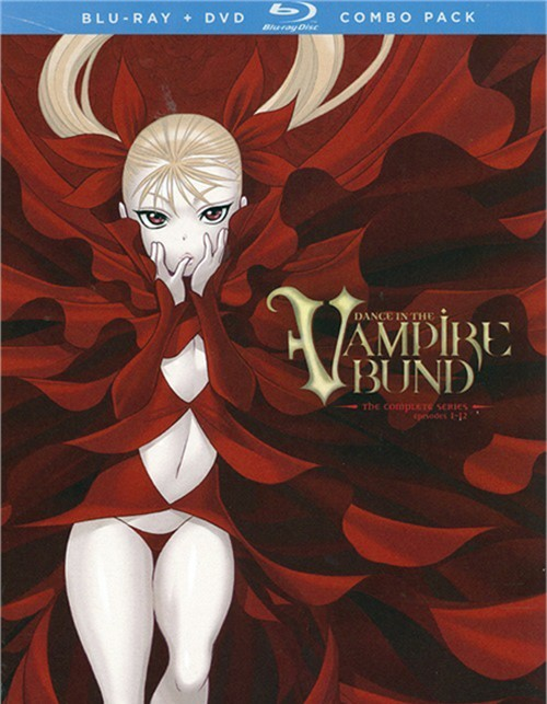 Dance In The Vampire Bund: Complete Series - Alternative Art (Blu-ray + DVD Combo) Blu-ray