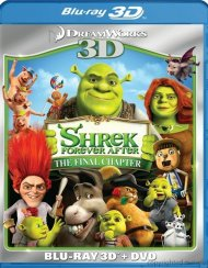 Shrek Forever After 3D (Blu-ray 3D + DVD Combo) Blu-ray