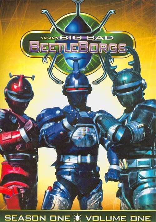 Big Bad Beetleborgs: Season One - Volume One Movie