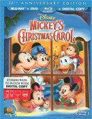 Mickeys Christmas Carol: 30th Anniversary Edition (Blu-ray + DVD + Digital Copy) Blu-ray