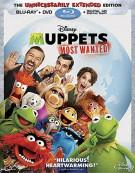 Muppets Most Wanted (Blu-ray + DVD + Digital HD) Blu-ray