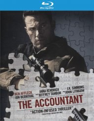 Accountant, The  (Blu-ray + DVD Combo + Digital HD Ultraviolet)  Blu-ray