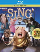 Sing (Blu-ray + DVD Combo + Digital HD Blu-ray