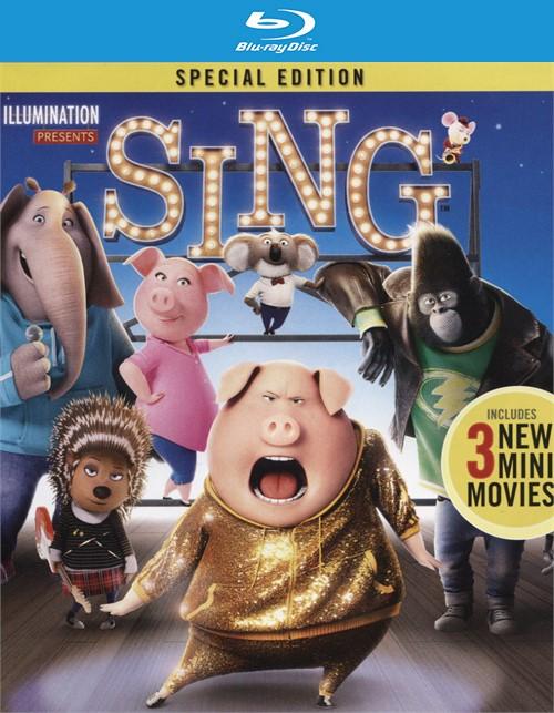Sing (Blu-ray + DVD Combo + Digital HD Blu-ray