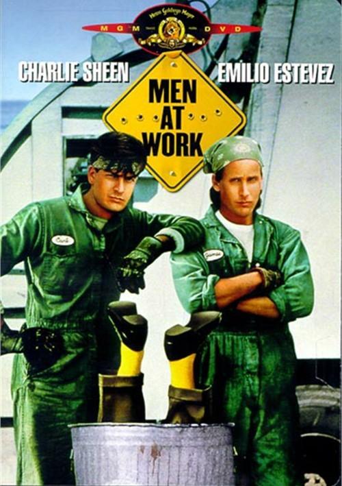 Charlie sheen movie men at work