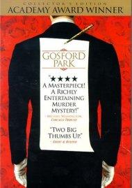 Gosford Park: Collectors Edition Movie