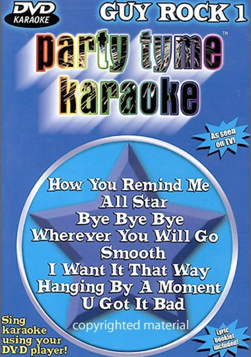 Party Tyme Karaoke: Guy Rock 1 Movie