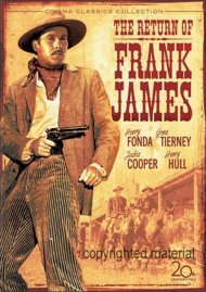Return Of Frank James, The Movie