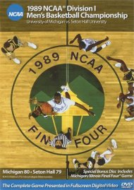 1989 NCAA Championship: Michigan Vs. Seton Hall Movie