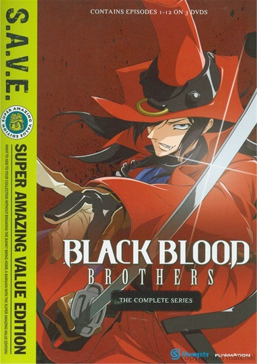 Black Blood Brothers: The Complete Series Movie
