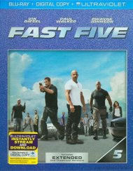 Fast Five (Blu-ray + Digital Copy + UltraViolet) Blu-ray