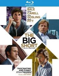 Big Short, The (Blu-ray + DVD + UltraViolet) Blu-ray