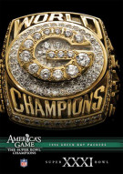 NFL Americas Game: 1996 Green Bay Packers Super Bowl XXXI Movie