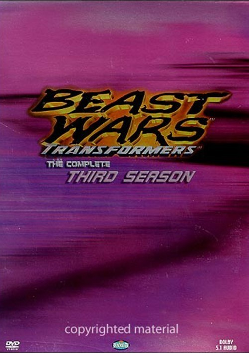 Beast Wars Transformers: Complete Third Season Boxed Set Movie