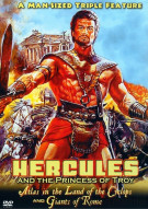 Hercules And The Princess Of Troy / Atlas In The Land Of The Cyclops / Giants Of Rome Movie